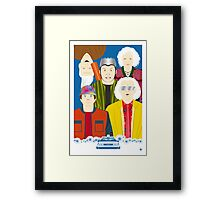 2015 (Faces & Movies) Framed Print