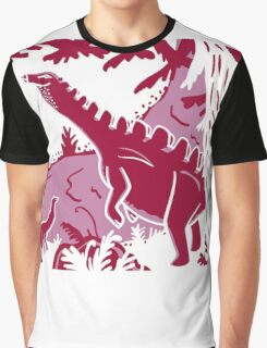 Long Necks - Lavender and Pink Graphic T-Shirt