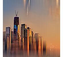 Freedom Tower Fantasy Photographic Print
