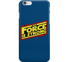 The force is strong... Retro Empire Edition iPhone Case/Skin