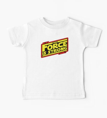 The force is strong... Retro Empire Edition Baby Tee