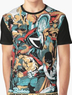 HANNA-BARBERA SUPER HEROES OLD Graphic T-Shirt