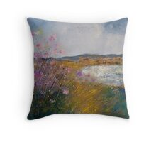 SUMMER GRASSES Throw Pillow