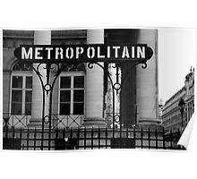 Metropolitan Poster