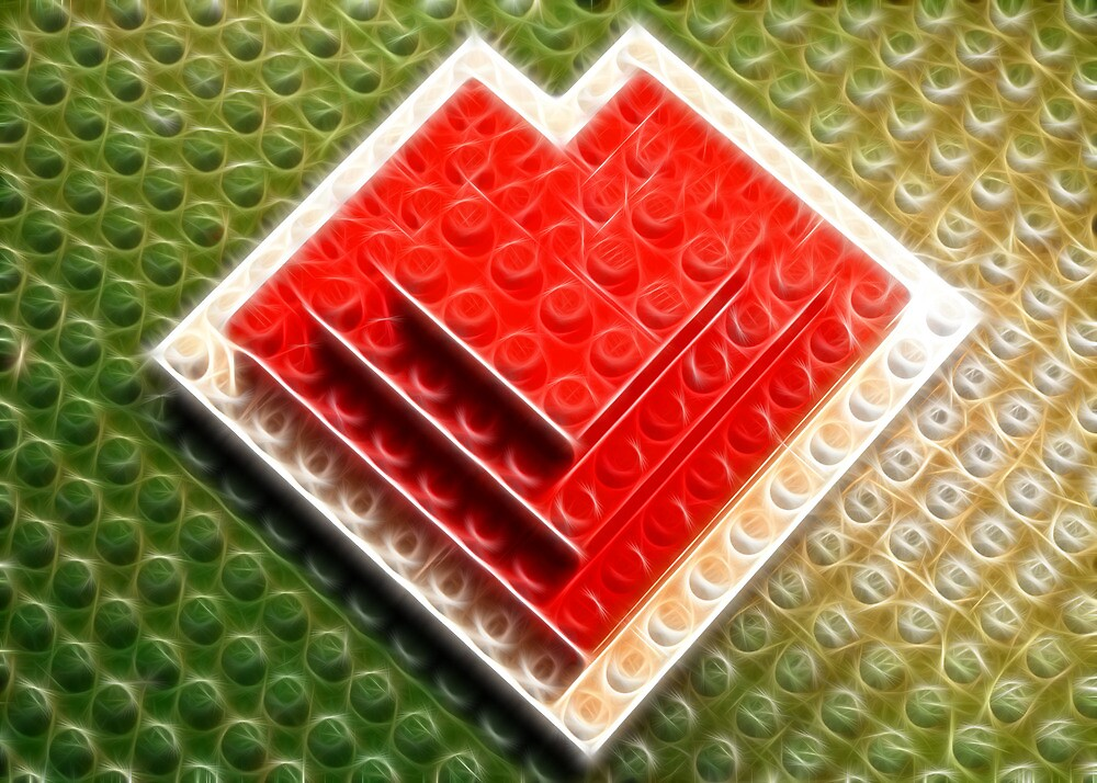 Lego Love 1 by Lisa Kent