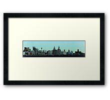 Liverpool 8-Bit Framed Print