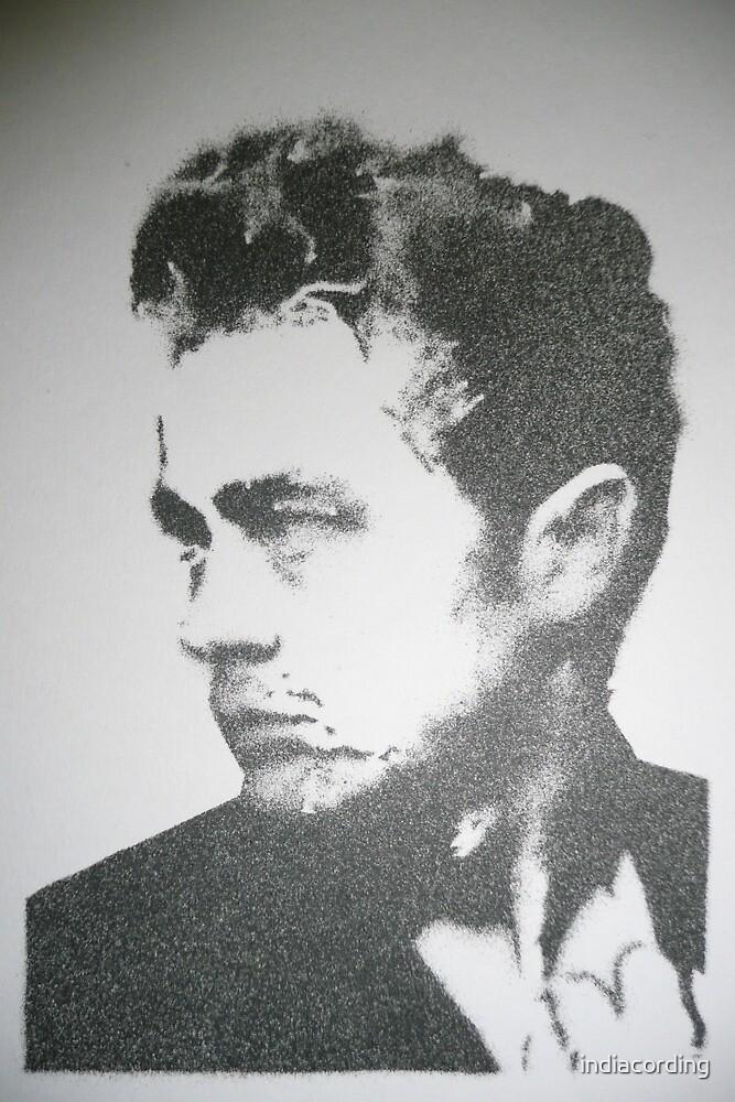James Dean stencil by indiacording