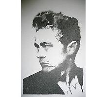 James Dean stencil Photographic Print