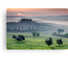Tuscan Morning Canvas Print