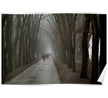 mist in the alleys Poster