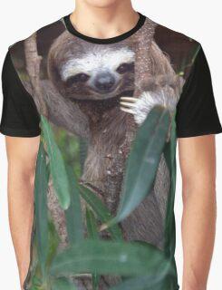 Sloth Graphic T-Shirt