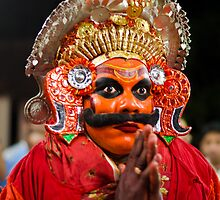 Theyyam Artist by Neha Singh