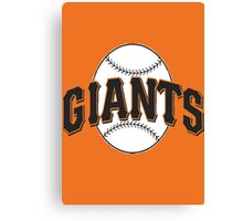 Giants Canvas Print