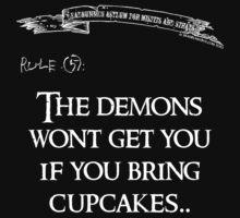 deadbunneh asylum - the demons won't get you if you bring cupcakes by Dave Brogden