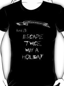 deadbunneh asylum - escape twice, win a holiday T-Shirt