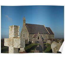 St Gwenfaen's Church Poster