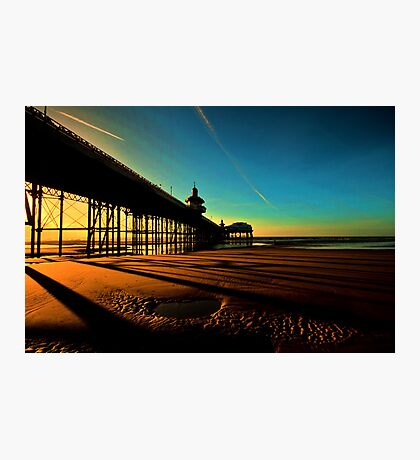 Shadows Of The Pier II Photographic Print