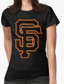 Giants Womens Fitted T-Shirt