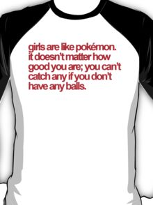 Pokemon Quote T-Shirt