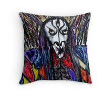 Arch Mage of Havoc's Grace Throw Pillow