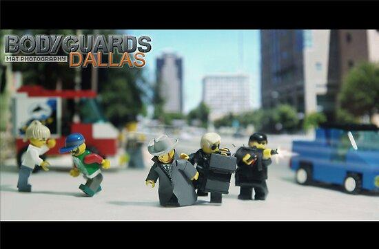 Lego Bodyguards by Shobrick