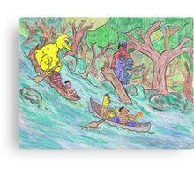 Sesame Street Deliverance Canvas Print