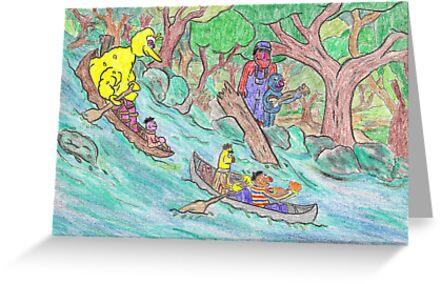 Sesame Street Deliverance by DrewSomervell