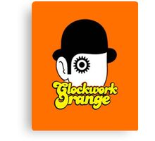 Clockwork Orange Minimal Canvas Print