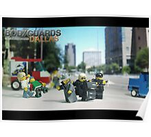 Lego Bodyguards 3 Poster