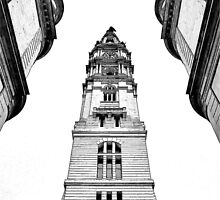Philadelphia Town Hall. by PAPERPLAN