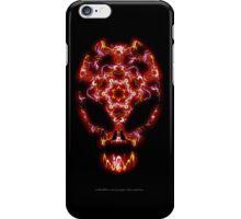 Alien Energy face iPhone Case/Skin