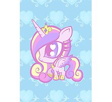 Weeny My Little Pony- Princess Cadence Photographic Print