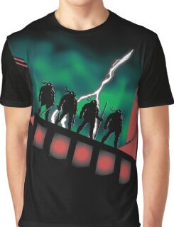 The Animated Turtles Graphic T-Shirt