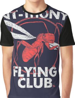 Ant Flying Club Graphic T-Shirt