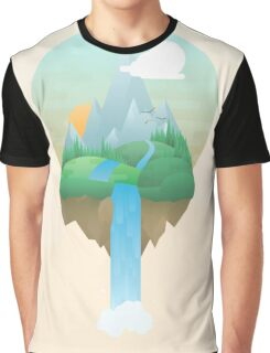 Our Island in the Sky Graphic T-Shirt