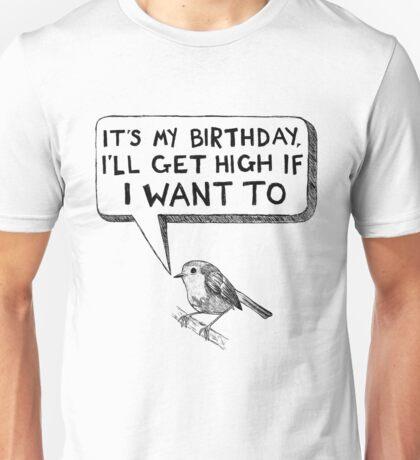 High as a Bird Unisex T-Shirt