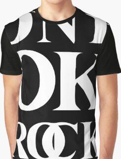 ONE OK ROCK (Alt Logo - White) Graphic T-Shirt