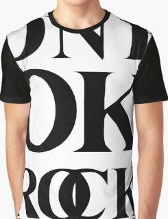 ONE OK ROCK (Alt Logo - Black) Graphic T-Shirt