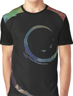 Colorful Debian Graphic T-Shirt