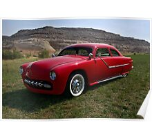 1951 Ford Custom Low Rider Poster