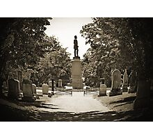 Stonewall Jackson's Final Resting Place Photographic Print