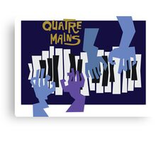 Quatre Mains Canvas Print