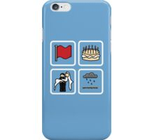 crimson, eleven, delight, petrichor iPhone Case/Skin