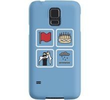 crimson, eleven, delight, petrichor Samsung Galaxy Case/Skin
