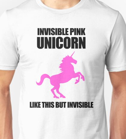 Invisible Pink Unicorn T-Shirt