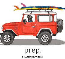 preppy car by Emily Grimaldi