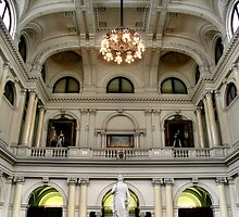 The Queen's Hall at Parliament House by Christine Smith