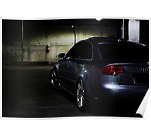 2007 AUDI RS4  Poster