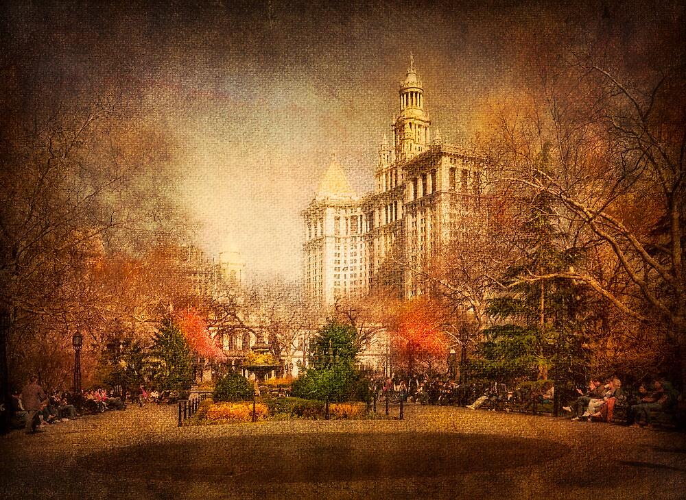 New York in Watercolour by Svetlana Sewell