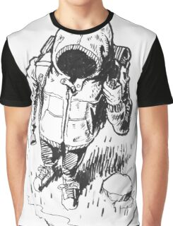 Ink Hooded Hiker Graphic T-Shirt